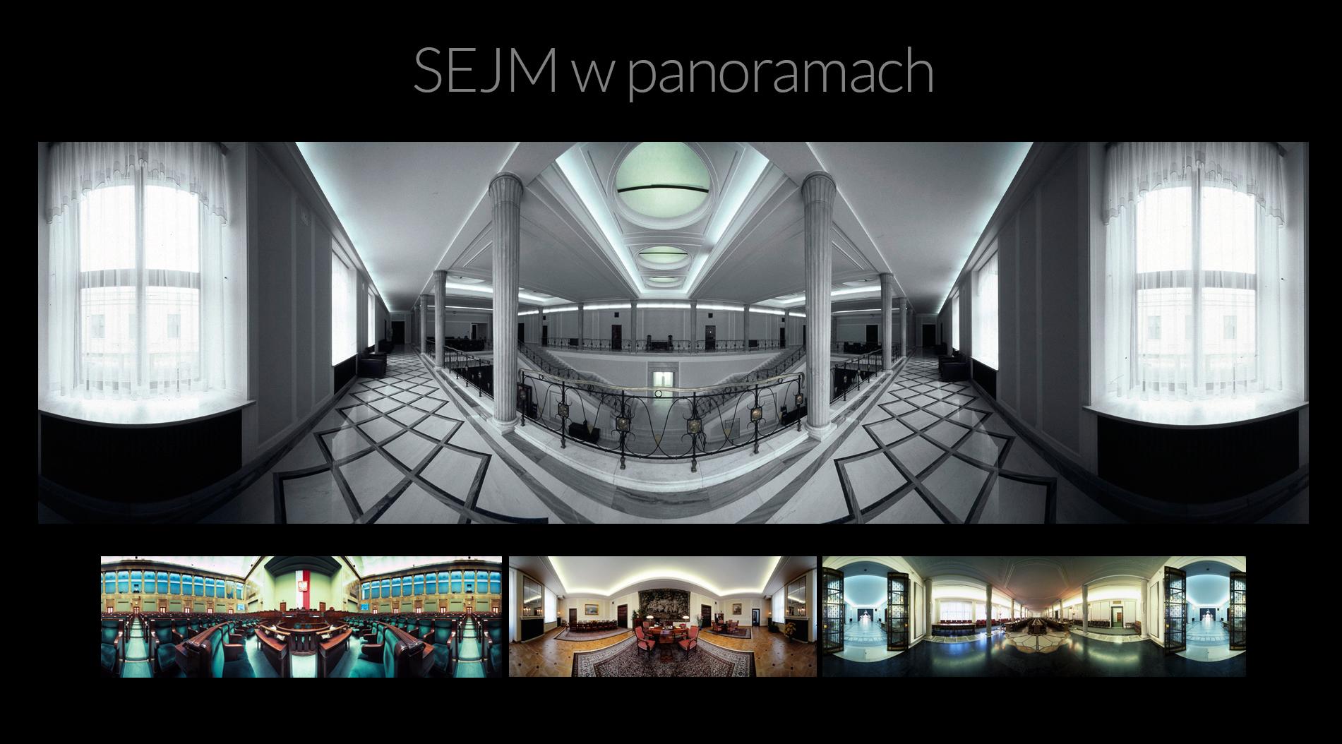 Sejm w panoramach